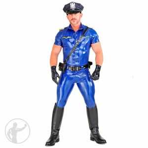 Rubber Cop Uniform