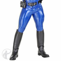 Rubber Cop Pants