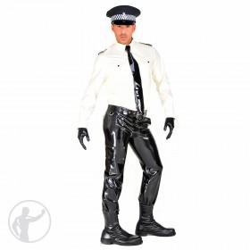 Rubber British Style Police Uniform