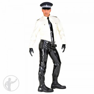Rubber British Style Police Uniform