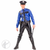 Rubber American Style Police Uniform