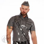 Rubber Military Corps Shirt