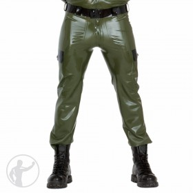 Rubber Army Military Pants