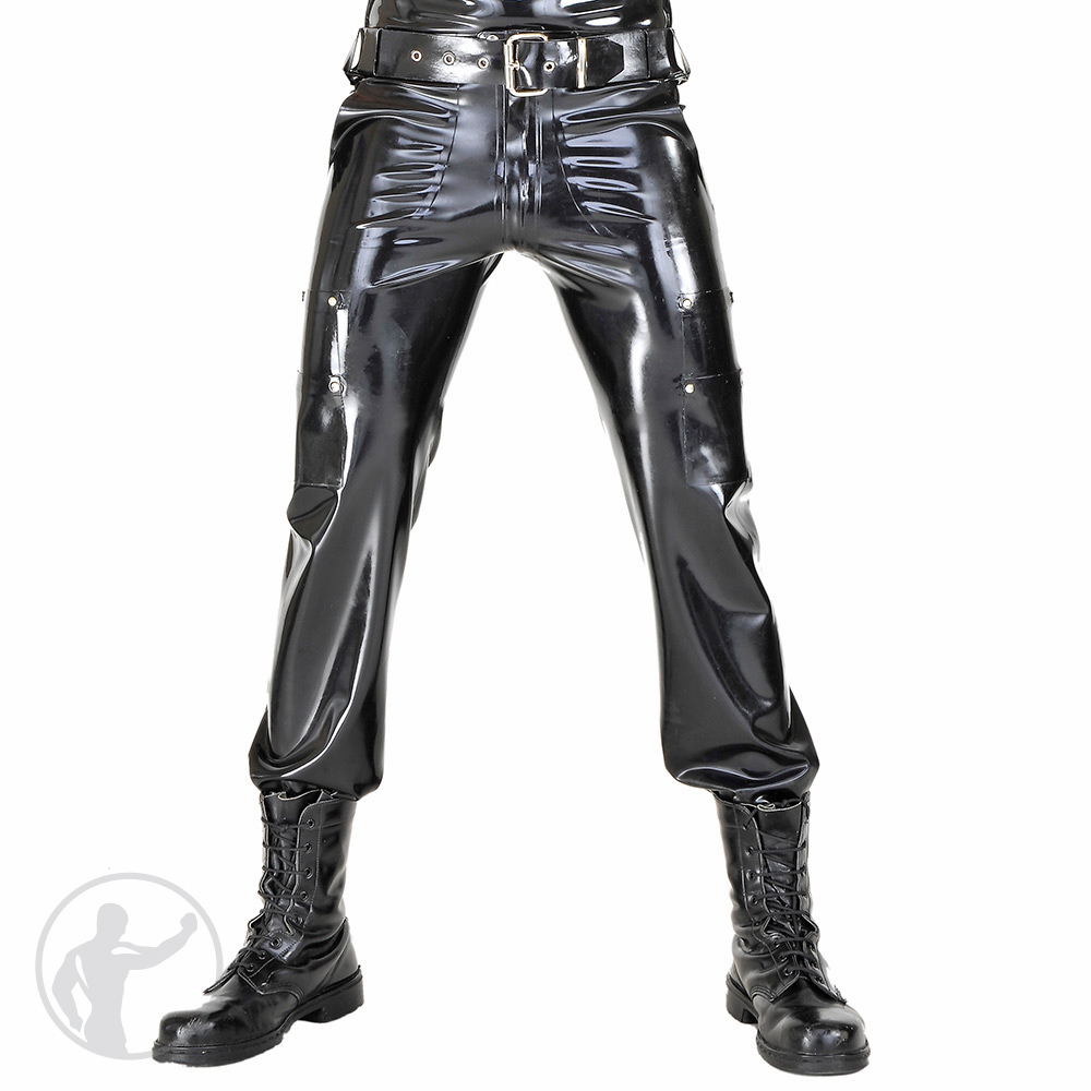 Rubber Police Utility Pants