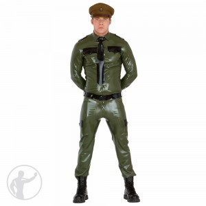 Rubber Army Military Uniform