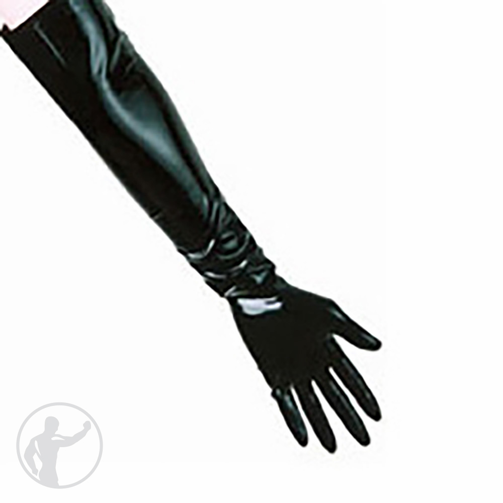 Rubber Elbow Length Gloves