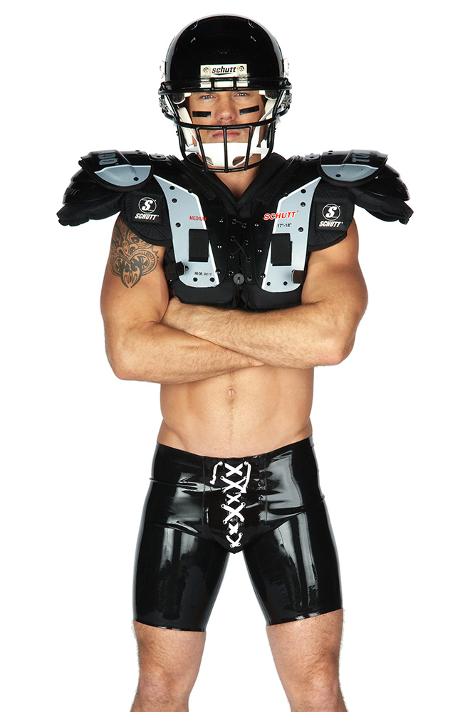 Rubber American Football Shorts